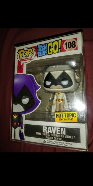 "DC Teen Titans GO! ""Raven (White)"" Hot Topic Exclusive Funko Pop for Sale in Los Angeles, CA"