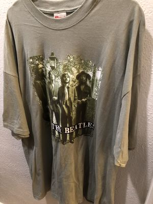 Vintage The Beatles rock T-shirt size 3X $50 for Sale in Los Angeles, CA