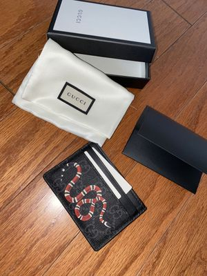 Gucci Kingsnake Cardholder Wallet for Sale in Cypress, CA