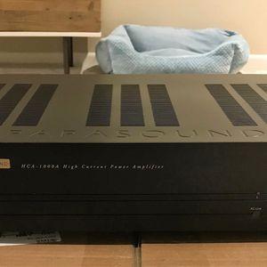 Parasound HCA1000 THX POWER AMPLIFIER for Sale in San Diego, CA