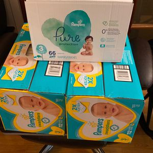 Baby Diapers 3 Boxes For $85 for Sale in Chatsworth, CA