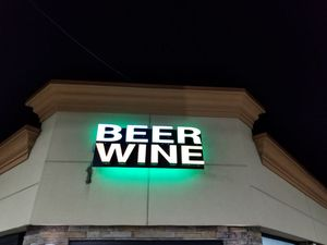 Beer & Wine. Sign for Sale in Sterling Heights, MI