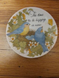 Small Painted Porcelain Plate for Sale in Newport News,  VA