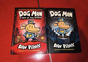 2 Dog Man Hardback Books for Sale in Rancho Cucamonga, CA