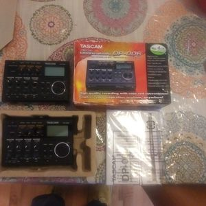 2 NEW IN THE BOX - TASCAM DP-006-digital Portastudio 6 Track Portable Multi-track Record a. for Sale in Fairburn, GA