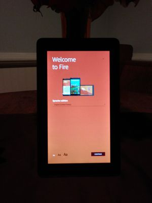 Amazon Kindle 7 inch Tablet for Sale in Newport News, VA