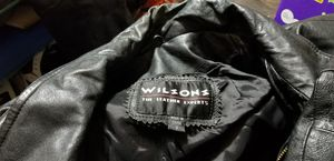 Wilson Motorcycles Leather jacket Size Small Males for Sale in Van Buren, AR