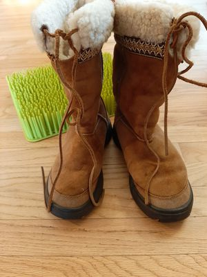Ugg Women's Size 7 Shearling Ultimate Cuff Boots Originals 5273 Vintage for Sale in Westminster, CO