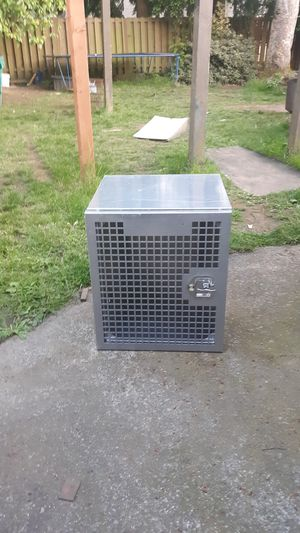 Stainless steel dog crate for Sale in Vancouver, WA
