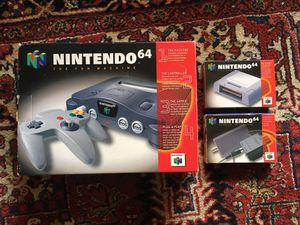 Original Nintendo 64 System Complete In Box Console With Controller and CIB Accessories for Sale in Los Angeles, CA