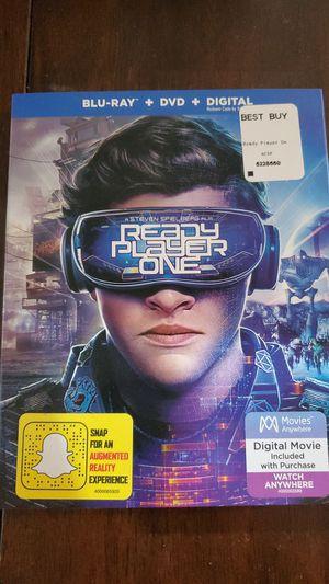 Ready player one blu ray dvd & digital for Sale in Sarasota, FL