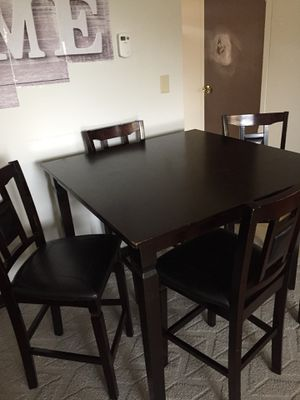 Kitchen table 4 chairs for Sale in Terre Haute, IN