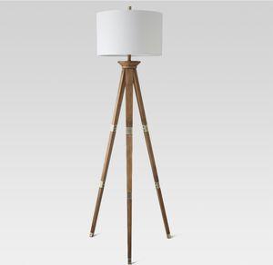 Oak floor lamp for Sale in La Vergne, TN