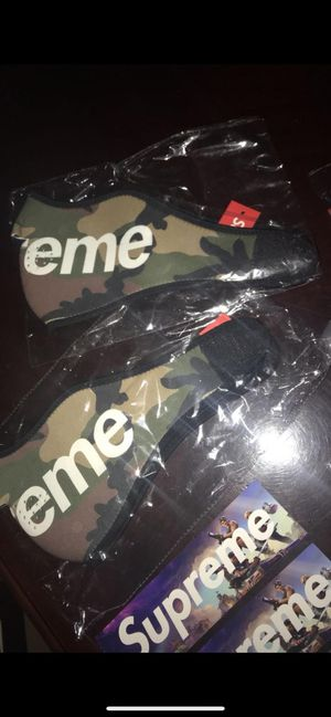 Supreme face mask camoflauge for Sale in Miami, FL