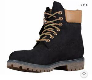 """TIMBERLAND - TB0A19MW - Men's 6"""" Waterproof Boots - Black & Brown - Size 9 for Sale in Dayton, OH"""