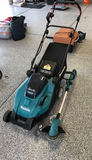 Makita lawn mower and weed eater for Sale in Cave Creek, AZ