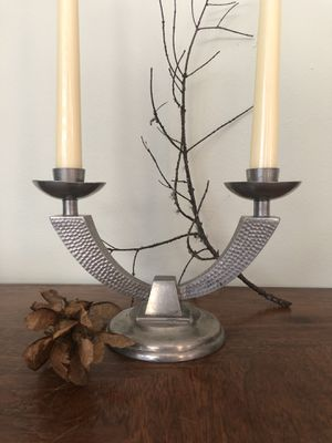 Mid century pewter candle holder for Sale in Tigard, OR