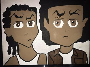 the boondocks painting for Sale in Brandon, FL
