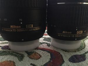 Nikon kit lenses for Sale in Los Angeles, CA