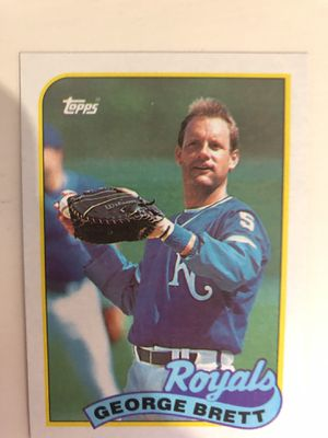 George Brett 1989 Topps Card for Sale in Atlanta, GA