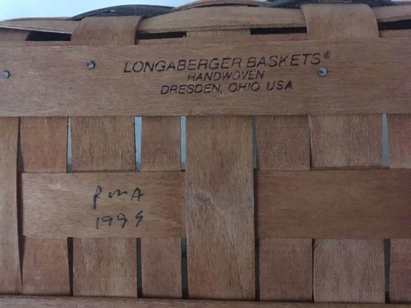 Longaberger Spring Basket