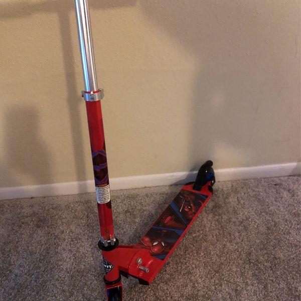 Scooter Spider-Man