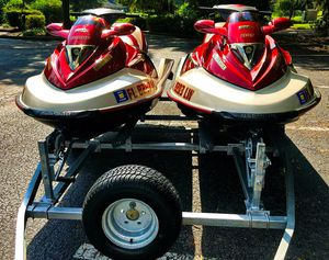 Twin 2OO2 Sea-D00 GTX 4-Tec_with_trailer_$1600 all! for Sale in Garland, TX