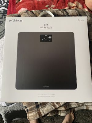 Withings body/BMI WIFI scale for Sale in Fontana, CA