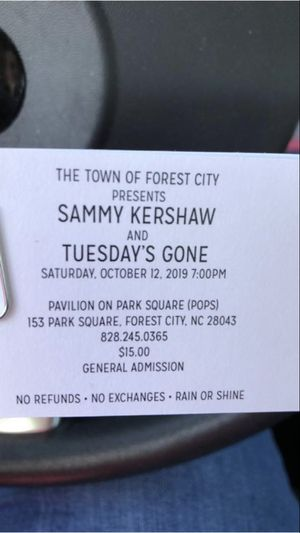 Sammy Kershaw in Forest City for Sale in Taylors, SC