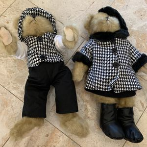 "TS Trade Secret 16"" Mohair Teddy Bear Harrison 2007 #1 and Her Partner in Series Macys for Sale in Encinitas, CA"