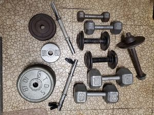 Various weights 170 lb for Sale in Sunrise, FL