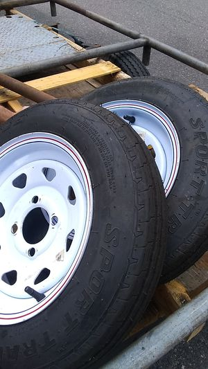 TRAILER TIRES!! 2 Like New $8.00 ea for Sale in Happy Valley, OR