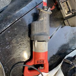 Milwaukee Saw-Zall Corded for Sale in Puyallup,  WA