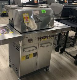 CHAR BROIL COMMERCIAL PROPANE GRILL U0I for Sale in Houston,  TX