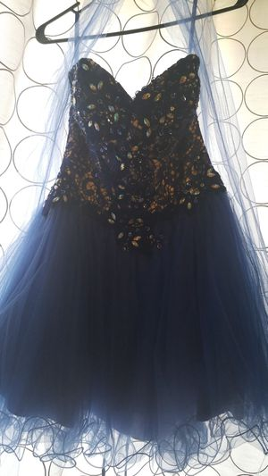 Homecoming dress blue for Sale in Reynoldsburg, OH
