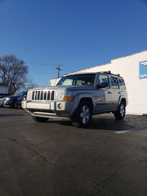 2007 Jeep Commander SUV MOON/SUN ROOF for Sale in Clinton Township, MI