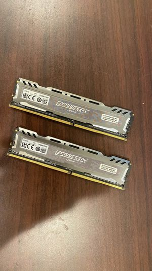 Ballistix RAM 8gb*2 2666mhz for Sale in Champaign, IL