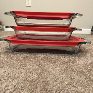 Pyrex - 6 pc rectangular trays for Sale in Cranberry Township, PA