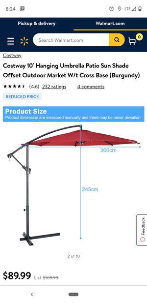 10-ft UMBRELLA!!! Patio Umbrella for Sale in Rancho Cucamonga, CA
