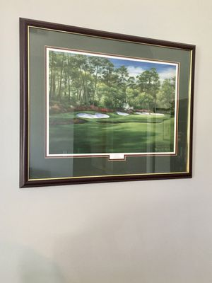 Azalea #13, Augusta National Golf Club Litho print by Marci L. Rule for Sale in Marvin, NC