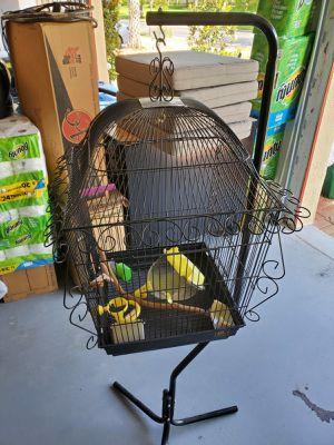 Canary cage with stand for Sale in Miami, FL
