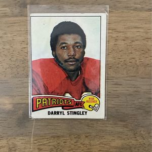 1975 NFL Topps Darryl Stingley for Sale in Cranberry Township, PA