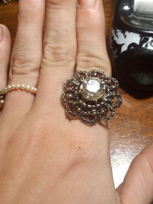 Large Victorian style flower ring for Sale in Akron, OH