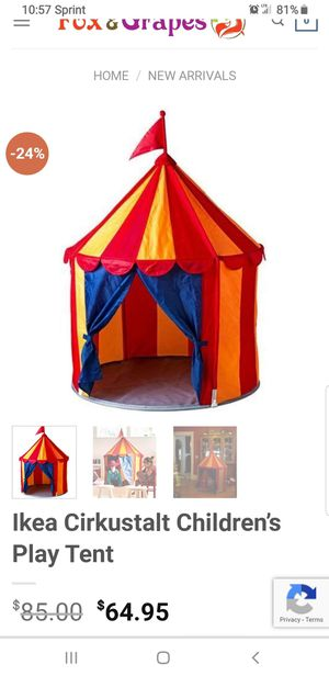 Tent for Sale in San Francisco, CA