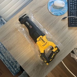 20-Volt MAX Lithium Ion Cordless Brushless Reciprocating Saw with FLEXVOLT ADVANTAGE (Tool Only) for Sale in Levittown, PA