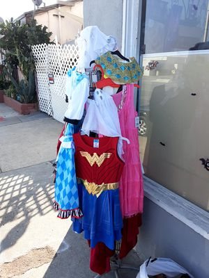 An abundance of Halloween costumes for $10 each brand new for Sale in Fullerton, CA
