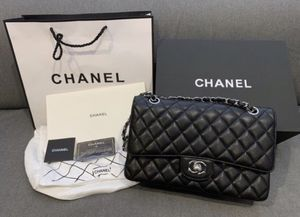Brand New Classic Medium Double Flap Chanel Bag Caviar Leather for Sale in ROWLAND HGHTS, CA