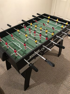 Fooseball and air hockey table for Sale in Closter, NJ