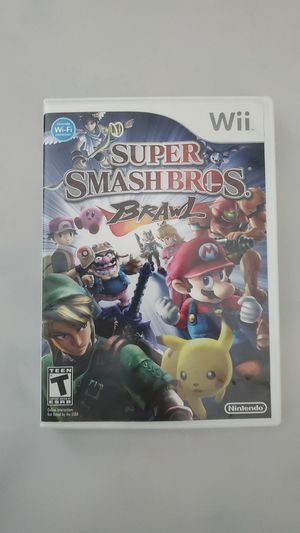 Super Smash Bros. Brawl for Sale in Dallas, TX