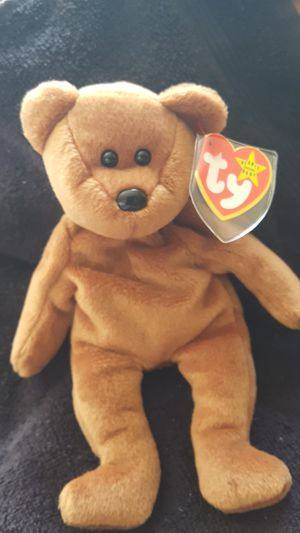 Original mint Teddy Beanie Baby, with mint tags for Sale in Plymouth, MI